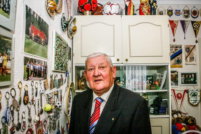 Liévin Monballieu. De voormalige kok van de Rode Duivels en Club Brugge werd 89 jaar.