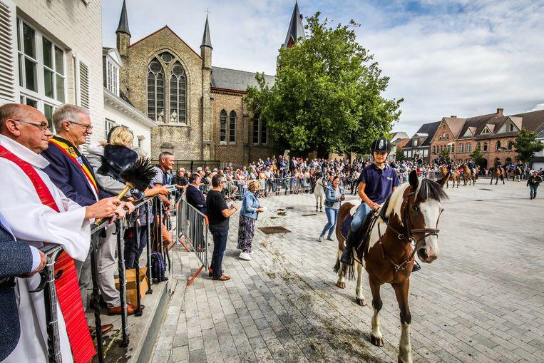 De 31ste paardenzegening in Eernegem