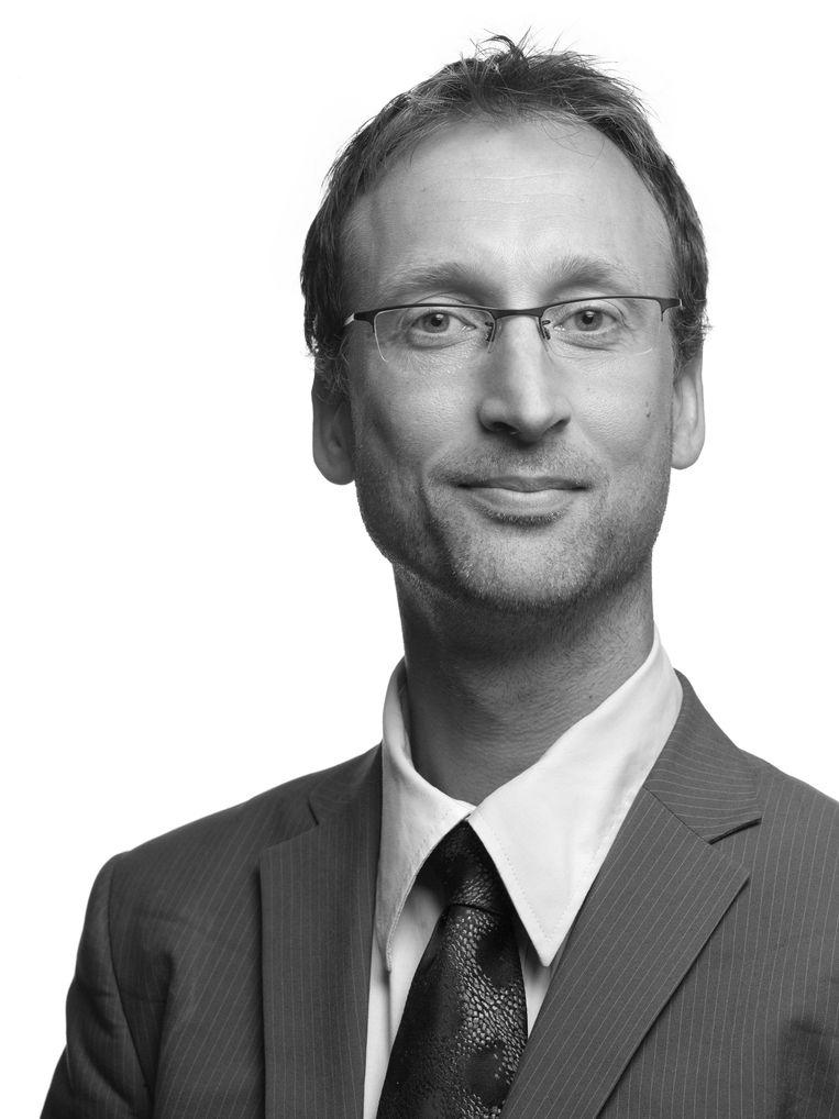 Marc Steen, senior onderzoeker bij TNO en werkzaam in het onderzoeksprogramma VWData (Verantwoorde Waardecreatie met Big Data) van NWO. Beeld