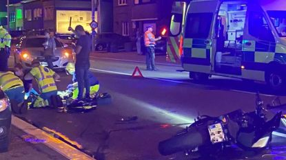 Motard (21) even kritiek na zware crash in Wommelgem