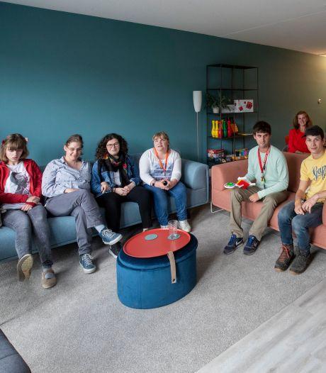 Jongeren met beperking hebben eigen plekje in Ede: 'Ze kunnen hier oud worden, dat voelt bijzonder'