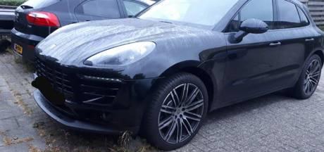 Politie is op zoek naar dief van netjes geparkeerde Porsche