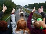 Boeren: 'Protestactie nu al een succes'