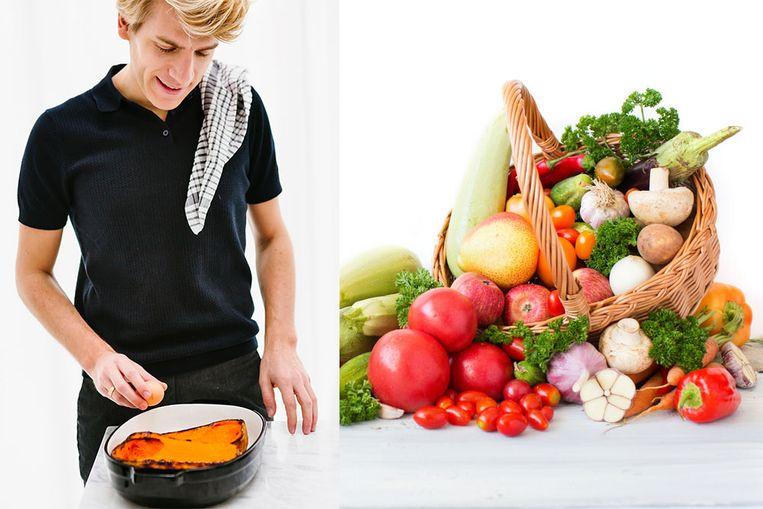 Eet niet minder vlees, maar meer groenten. Niet minder vet, maar meer fruit. Als we een gezond voedingspatroon willen kweken, kunnen we volgens kok en diëtist Michaël Sels beter stoppen met onszelf beperkingen op te leggen.