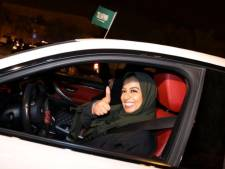 Saoedische vrouwen vieren opheffing rijverbod: 'Dit kan je bereiken met de moed om te dromen'
