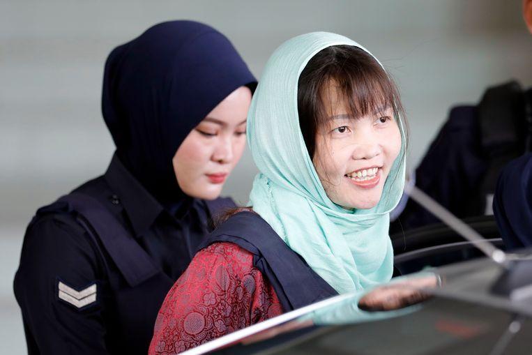De Vietnamese Doan Thi Huong, die ook verdacht werd van de moord op Kim Jong-nam en in april werd vrijgelaten.