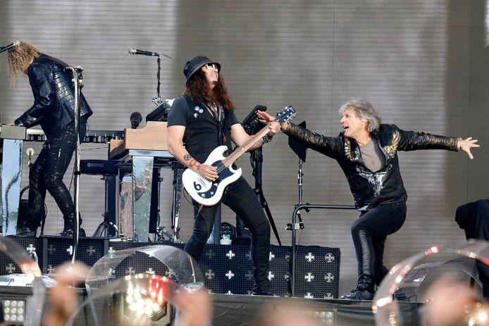 Bon Jovi in het Goffertpark.