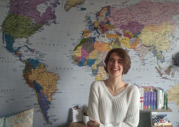 Nora Schreuder van het Minkema College in Woerden is door naar de finale van de Aardrijkskunde Olympiade.