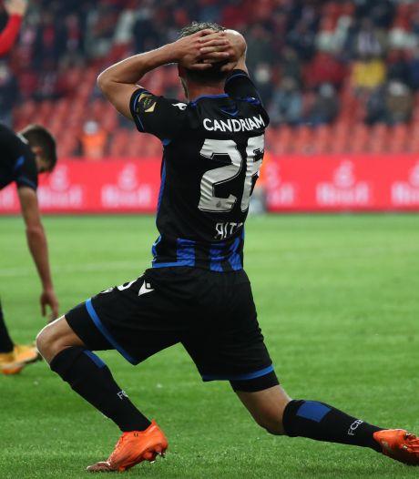 Club Brugge verspeelt punten in Luik na tweede strafschop in blessuretijd