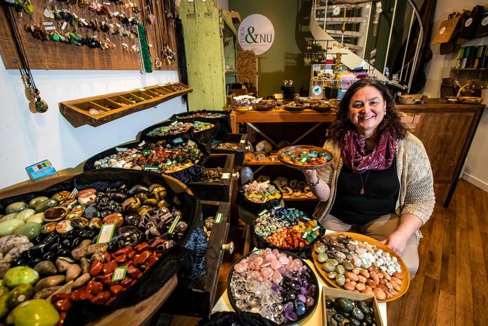 De winkel van Saskia Zwijnenberg in de Broederenstraat draait vanaf dag één goed.