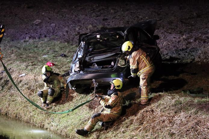 Bij een eenzijdig ongeval in Zierikzee is iemand zwaargewond geraakt.