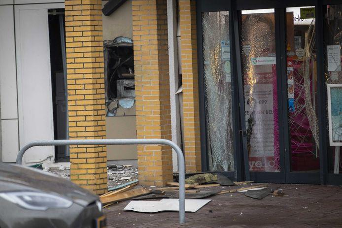 In het centrum van Ouderkerk aan de Amstel was vorige week een plofkraak op een geldautomaat.
