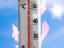 Hitte bereikt voorlopig hoogtepunt in Cuijk en Wijchen: 39,1 graden