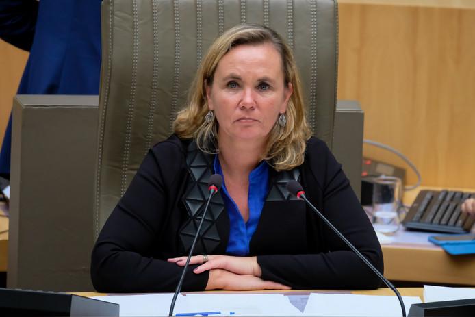 Liesbeth Homans, présidente du parlement flamand.