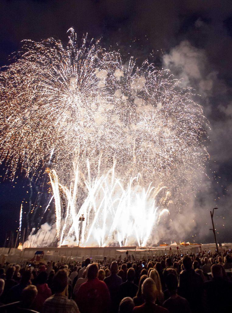 Vuurwerkfestival Knallender Dan Ooit Knokke Heist Regio Hln