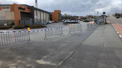 Colruyt in Aalst opnieuw afgesloten door politie, ook in Haaltert en Ninove politiecontrole aanwezig