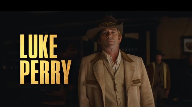 Luke Perry speelde zijn laatste rol in 'Once Upon a Time in Hollywood'.