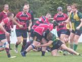 Rugbyers Tovaal komen te laat met inhaalrace