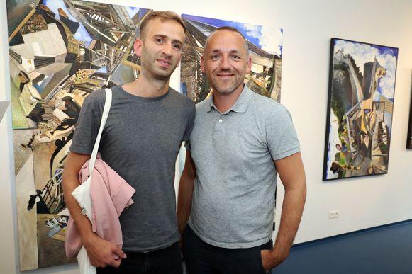 Opening galerij - Xavier Taveirne en partner Bas