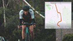 """Eén week na een looptocht van 100 kilometer rijdt Seppe Odeyn 239(!) keer de Sigarenberg op: """"Toch flink wat klopkes gehad"""""""