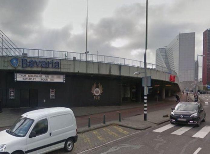 Club Vie aan de Maasboulevard in Rotterdam.