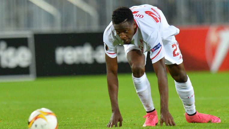 Divock Origi mocht in de Europa League wel nog eens aantreden.