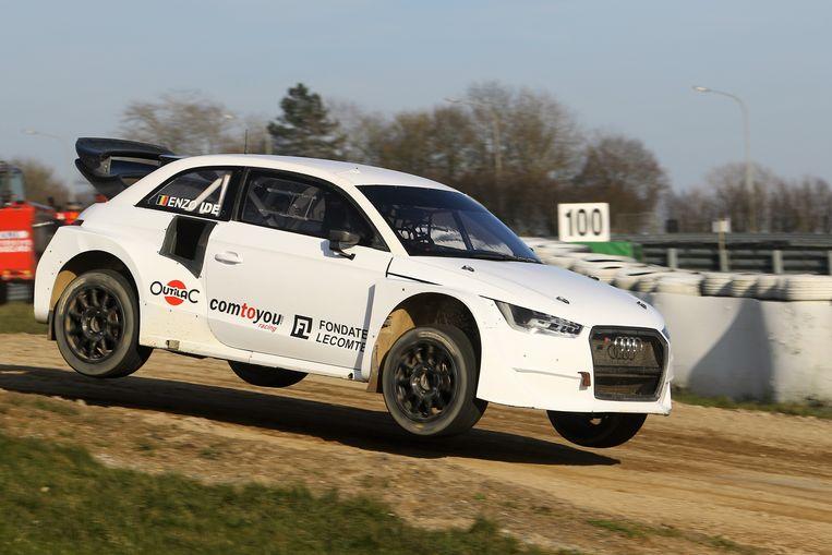 Enzo Ide maakte in 2018 de overstap van het circuit naar de rallycross met een Audi.
