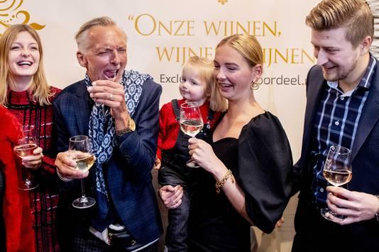 De familie Meiland, bekend van televisie én hun eigen lijn wijnen.