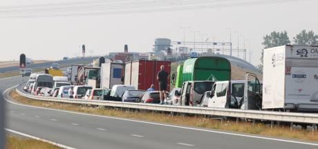 Tragisch ongeval op de N50; automobilist aangereden en overleden