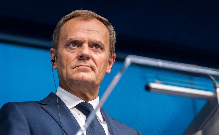 President Donald Tusk van de Europese Raad Beeld ap