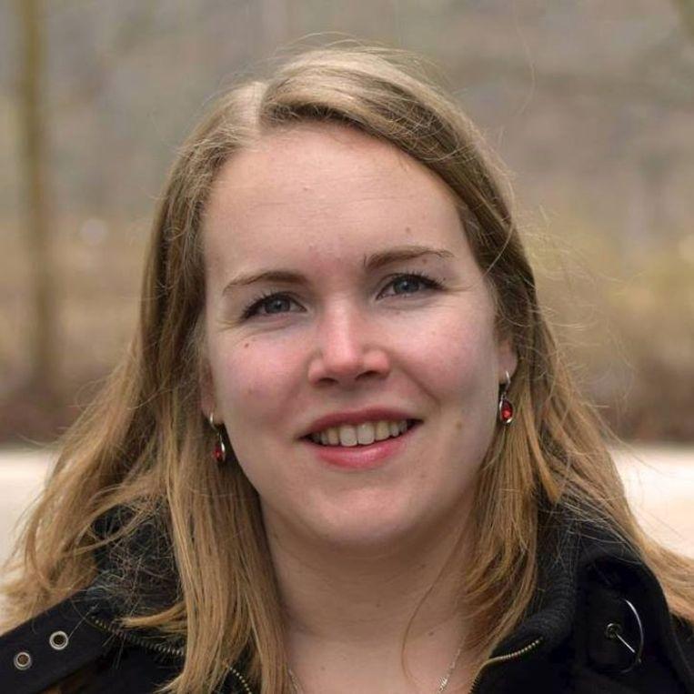 Socioloog Leonie van Breeschoten van de Universiteit Utrecht. Beeld .