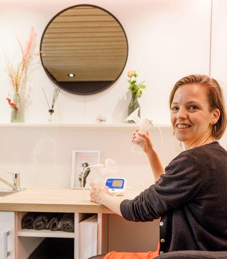 Met mobiele kolfruimte is werkende moeder nooit meer aangewezen op toilet of bezemkast