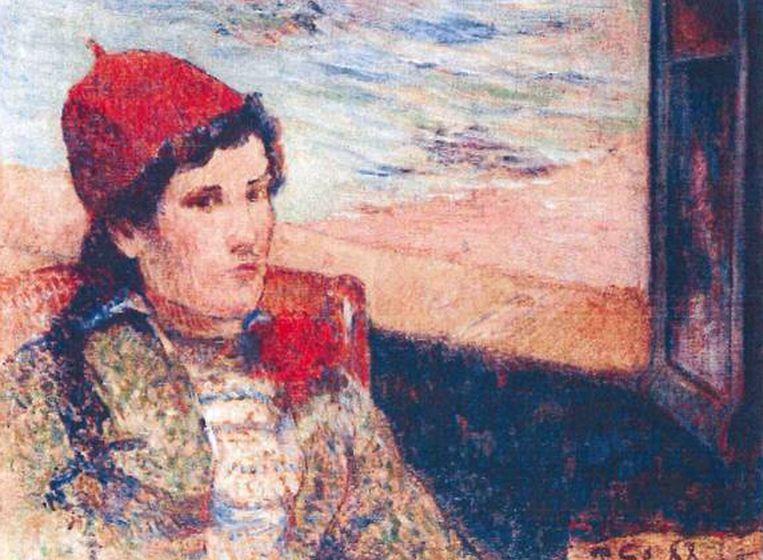 Het gestolen schilderij van Paul Gaugain. Beeld ap