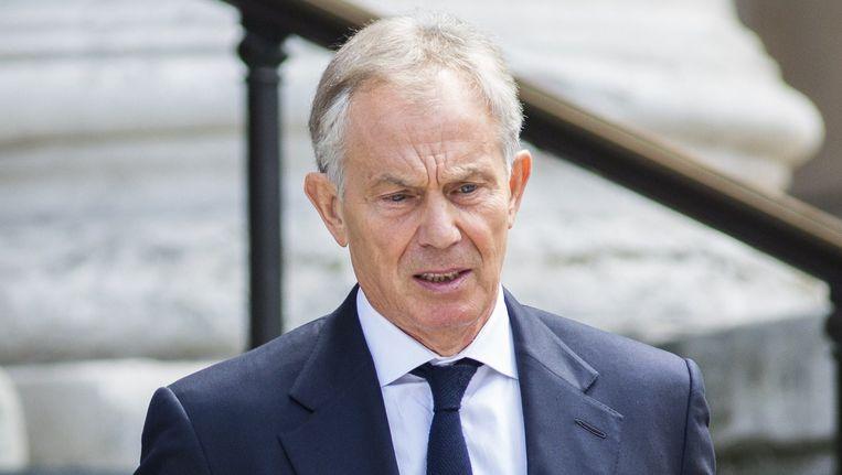 De Britse voormalig premier Tony Blair. Beeld AFP