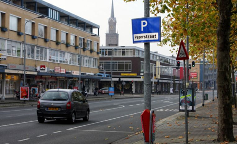 Het Openbaar Ministerie (OM) heeft onlangs beslag laten leggen op tweehonderd panden aan de Peperstraat in Zaandam. Het beslag van de woningen, winkels en kantoren maakt onderdeel uit van een strafrechtelijk financieel onderzoek. Foto ANP/Evert Elzinga Beeld