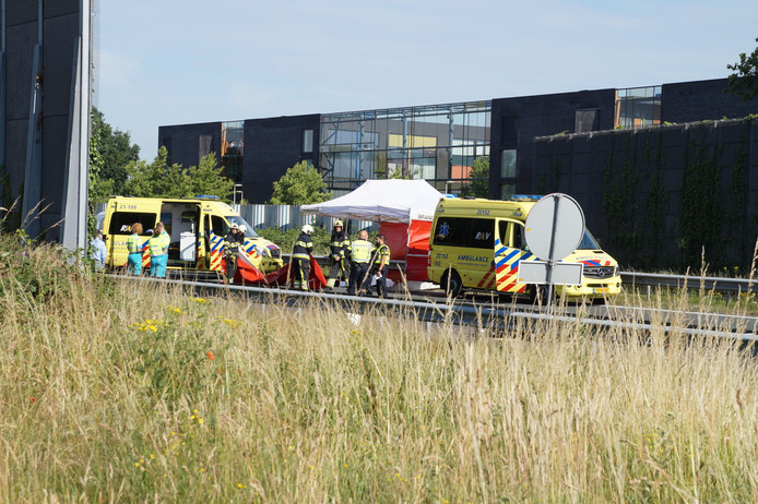Dodelijk ongeluk op de A59 bij Vlijmen