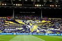 De tribune bij Vitesse.