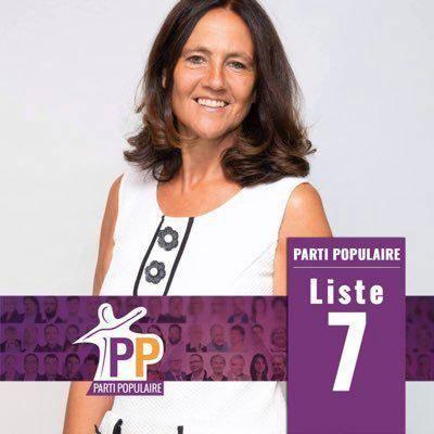 """Yasmine Dehaene-Modrikamen, l'épouse de Mischaël Modrikamen, sera tête de liste pour le PP à l'Europe. """"Yasmine est l'un des moteurs de notre mouvement"""", nous confie le président du PP."""