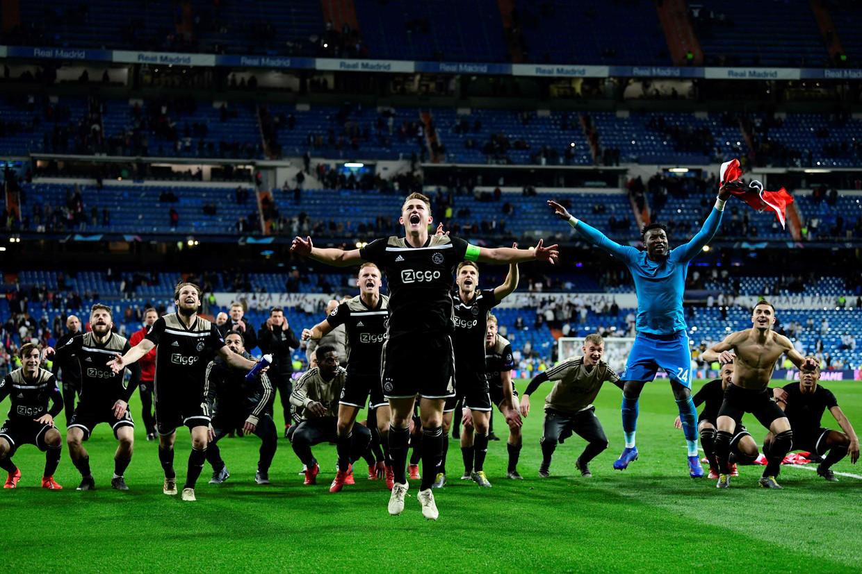 De glorieuze overwinning, 5 maart 2019. Beeld AFP