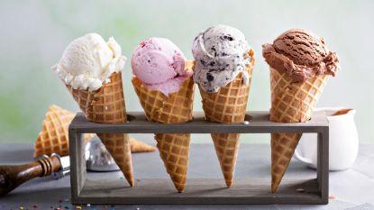 N-VA deelt ijsjes uit voor Vlaamse Feestdag