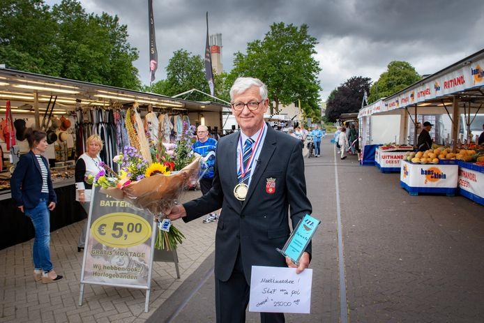 Marktmeester Stef van de Pol.