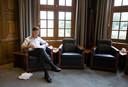 Mark Rutte in het Torentje. Zijn populariteit is onverminderd groot.