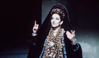 Maria Callas, een onzekere operadiva