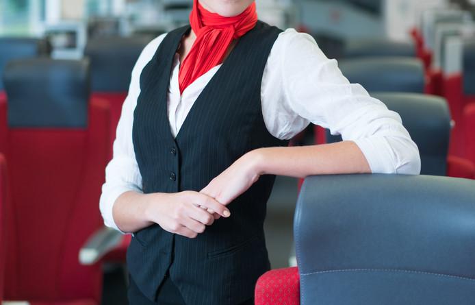 'Ik zal jullie laten zien wat ik doe met reizigers die hun treinreis niet betalen'.