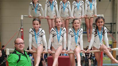 Gymnastes Vaste Vuist plaatsen zich massaal voor provinciale finale