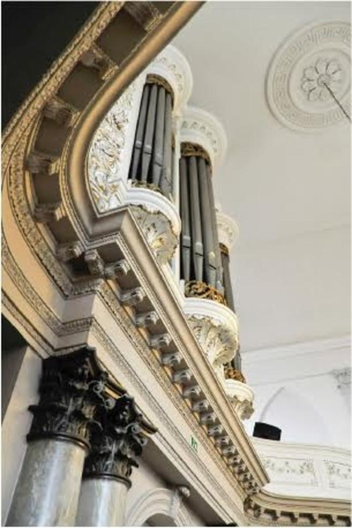 De leerlingen en ensembles van Quintus geven een barokconcert in de Lutherse Kerk.