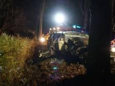 Gewonde bij ongeval in Borculo, bestuurder mogelijk onder invloed