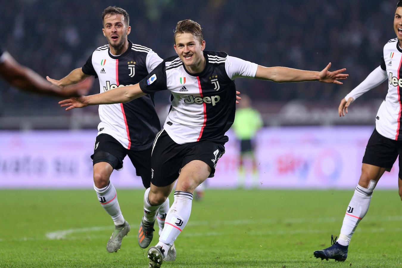 Matthijs de Ligt speelt zaterdag met Juventus de uitwedstrijd bij Atalanta Bergamo.