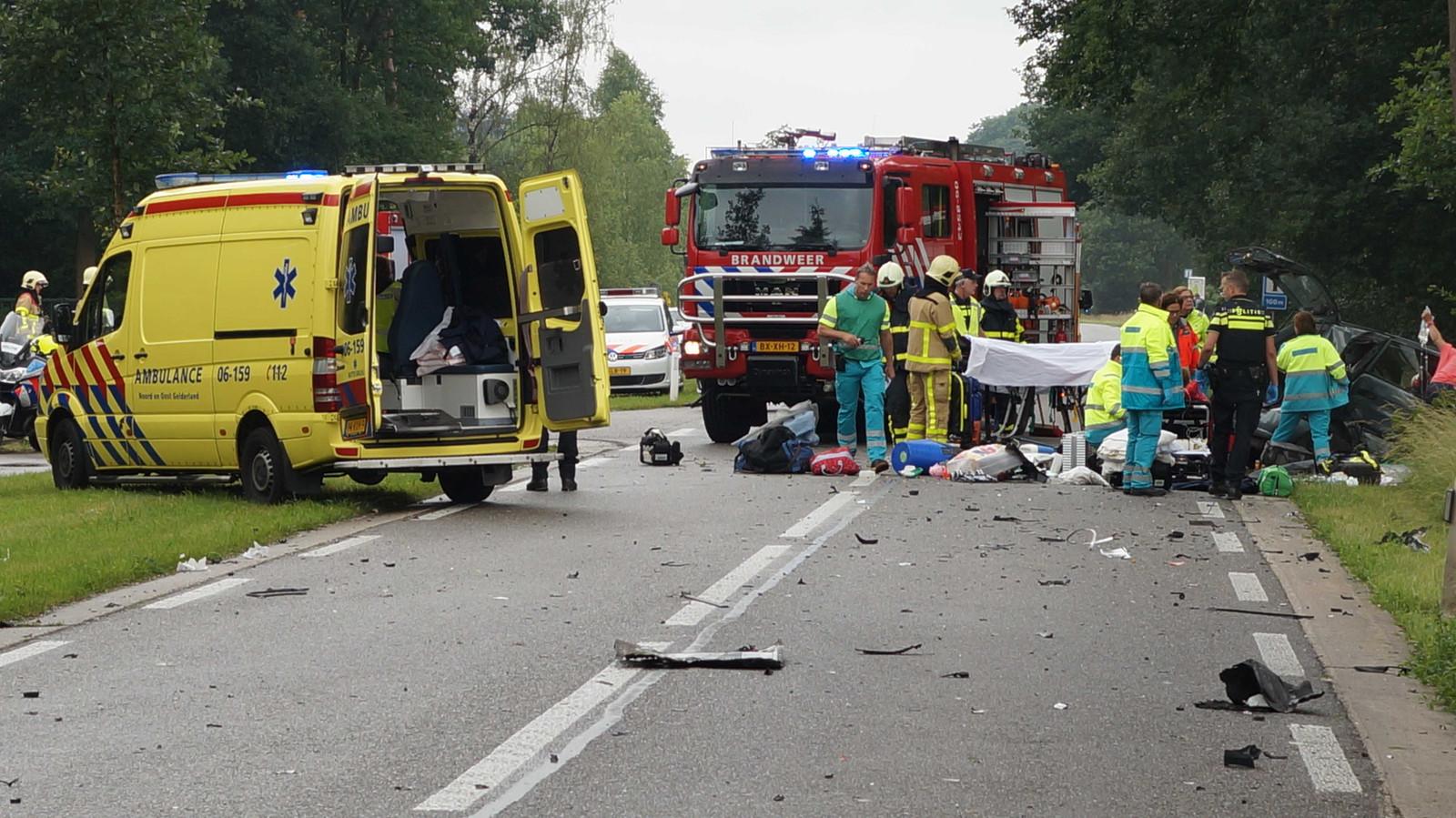 Bij dit ongeval in 2016 op de N315 kwam destijds een 4-jarig jongetje om het leven.