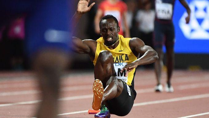 """""""Bolt was al geblesseerd voor de finale van de 4x100 meter"""""""